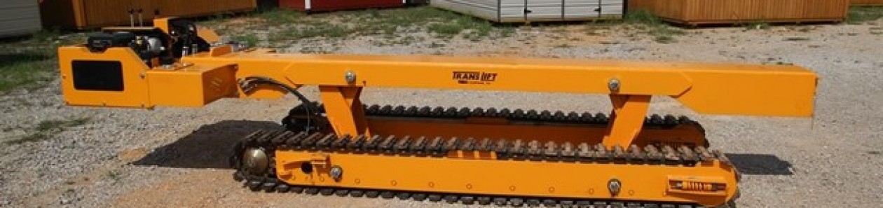 Rent a translift dozer to move mobile homes 210-887-2760